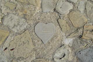 グラバー園 ハートの石の写真・画像素材[2652255]