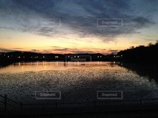夕日の写真・画像素材[109977]