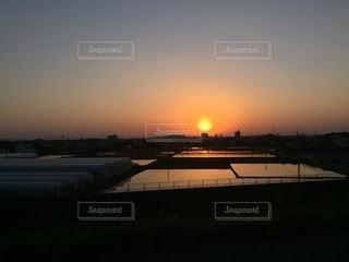 夕焼けの写真・画像素材[110297]