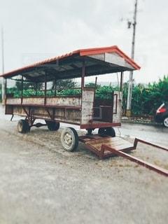 水牛車の写真・画像素材[2652626]