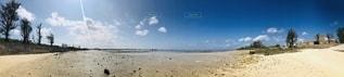 佐和田の浜 パノラマの写真・画像素材[2663087]