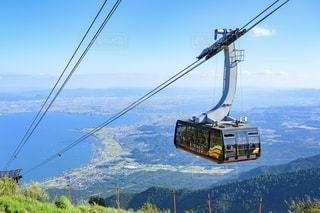 琵琶湖テラス ロープウェイの写真・画像素材[2652541]