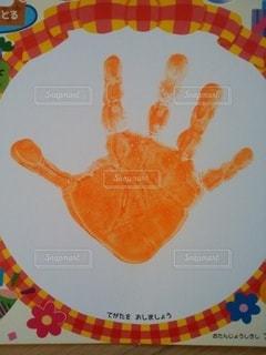 子どもの手形の写真・画像素材[2723102]