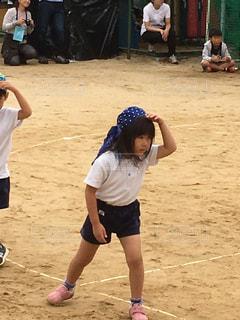 幼稚園の最後の運動会。の写真・画像素材[2657197]