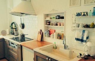 キッチンの写真・画像素材[107966]
