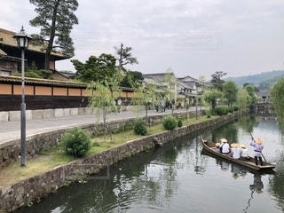 倉敷美観地区の川舟の写真・画像素材[2658395]