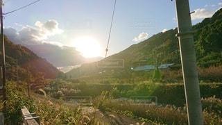山の側面の眺めの写真・画像素材[2739428]