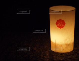 なら燈花会のキャンドルの写真・画像素材[3066535]