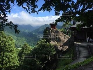 山寺の夏の写真・画像素材[2661787]