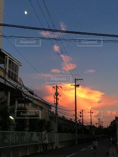 夕焼けの写真・画像素材[2661934]