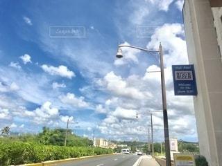 グアムの道の写真・画像素材[2662318]