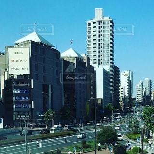 今日も動き続ける街の写真・画像素材[2664895]
