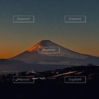 富士の夕暮れの写真・画像素材[2665356]