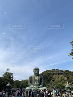 鎌倉大仏の写真・画像素材[2666714]