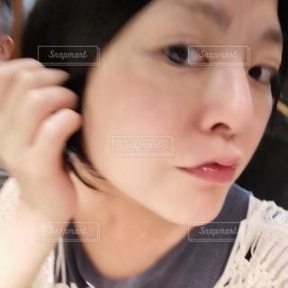 美肌の女性の写真・画像素材[3567002]