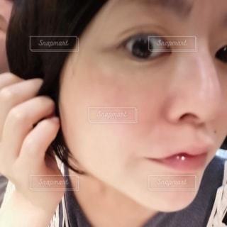 美肌の女性の写真・画像素材[3567001]