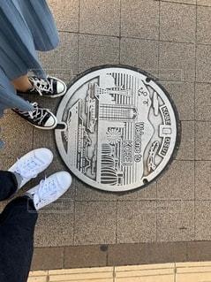 神戸マンホールの写真・画像素材[2693919]