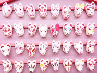 ピンクきつねの写真・画像素材[2673267]