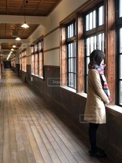 旧校舎からの眺めの写真・画像素材[2672642]