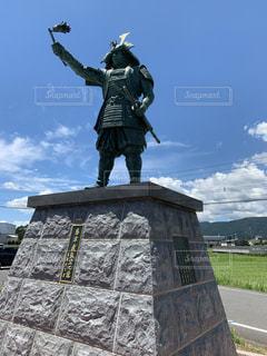 島津義弘公像の写真・画像素材[2674635]