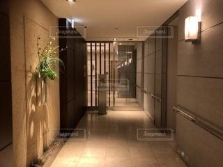 タワマンの廊下の写真・画像素材[2680971]