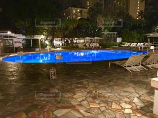 プールの写真・画像素材[2679335]