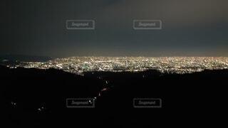 空の花火の写真・画像素材[4873836]