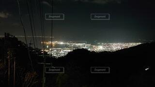 夜の都市の眺めの写真・画像素材[4874449]