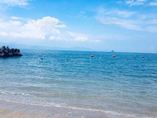青い海の写真・画像素材[2687218]