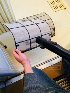 エアコンの掃除の写真・画像素材[2802563]