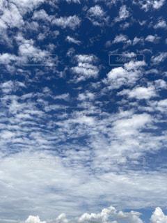 空の雲の群の写真・画像素材[3466653]