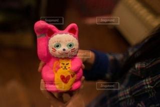 手作り招き猫の写真・画像素材[2711898]