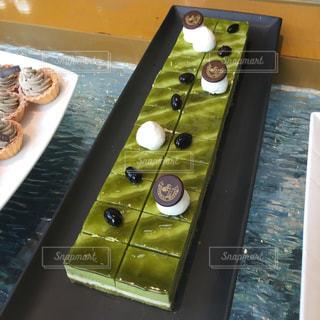 抹茶ケーキの写真・画像素材[2682879]