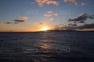 ハワイ/夕日の写真・画像素材[2684883]