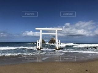 二見ヶ浦の鳥居の写真・画像素材[2683680]