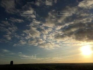 タラの夕焼け1の写真・画像素材[2684444]