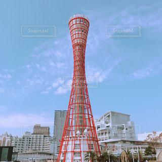 神戸ポートタワーの写真・画像素材[2703297]