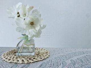 white flowerの写真・画像素材[2706045]