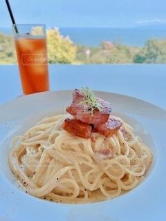 海の見えるレストランの写真・画像素材[3834841]