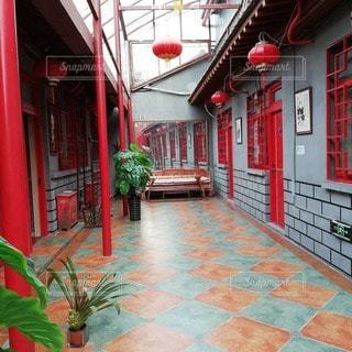 北京のホテルの写真・画像素材[2694536]