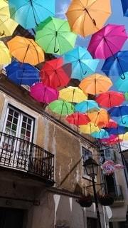 ポルトガルアンブレラスカイの写真・画像素材[2718595]
