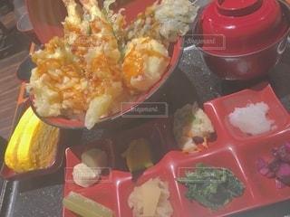 天ぷら丼の写真・画像素材[2686974]