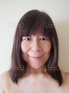 健康的な60 歳の女性の顔の写真・画像素材[4141247]