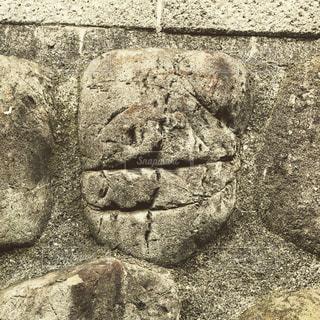 石の壁の写真・画像素材[1050047]