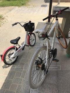 初めてのサイクリングの写真・画像素材[2689079]