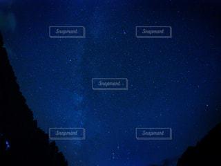 阿智村の満点の星空の写真・画像素材[234370]