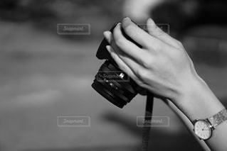 カメラ女子の写真・画像素材[2215559]
