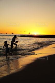 ハワイの夕焼けの写真・画像素材[2331754]