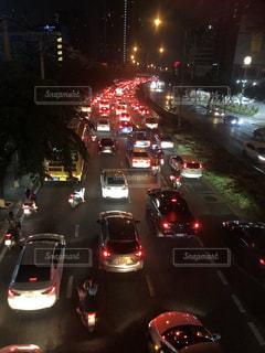 渋滞中の写真・画像素材[2695728]