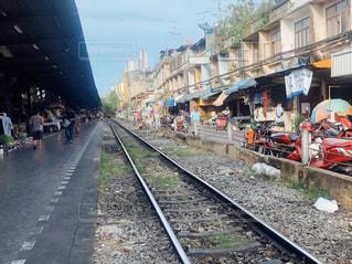 バンコクの駅の写真・画像素材[3217179]